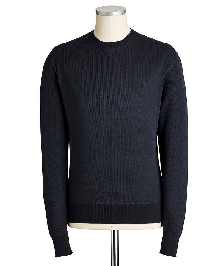 Silk-Cotton Sweater image 0