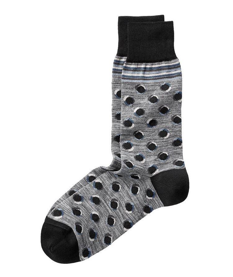 Printed Stretch-Cotton Socks image 0