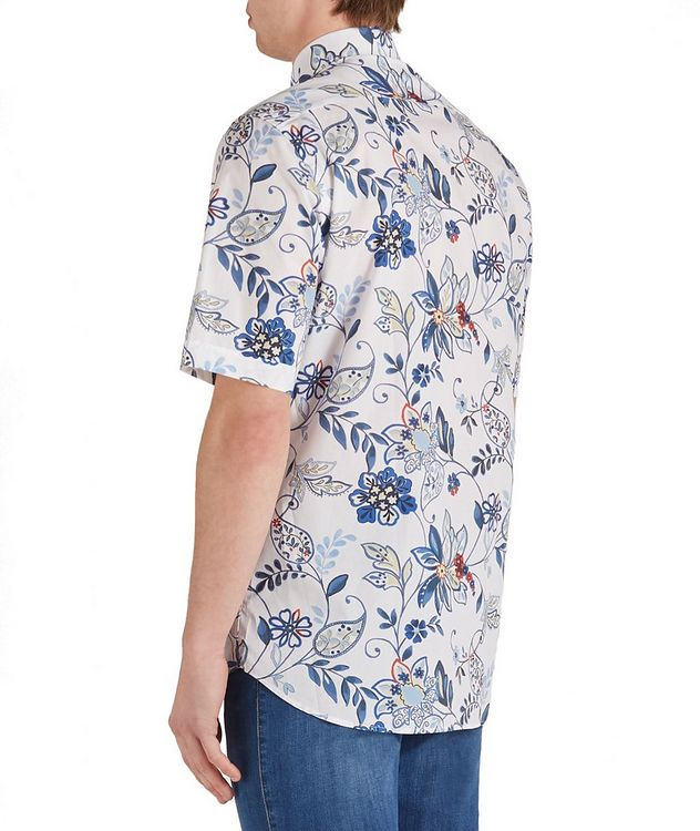Short-Sleeve Botanical Cotton Shirt picture 2