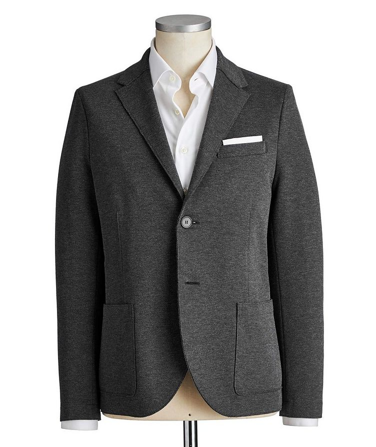 Unstructured Linen Sports Jacket image 0