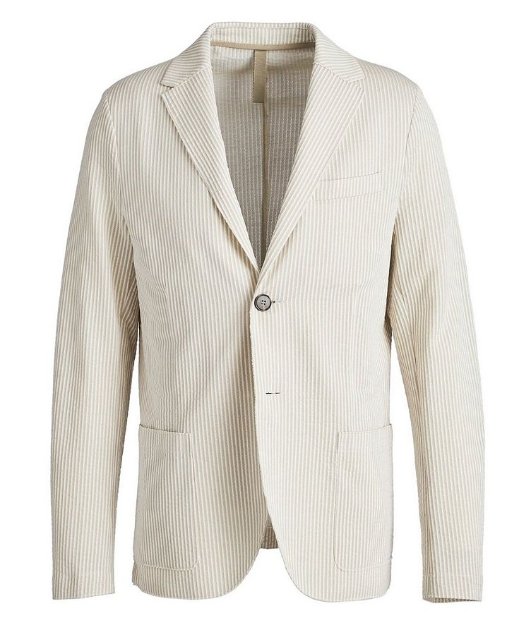 Unstructured Cotton Sports Jacket image 0