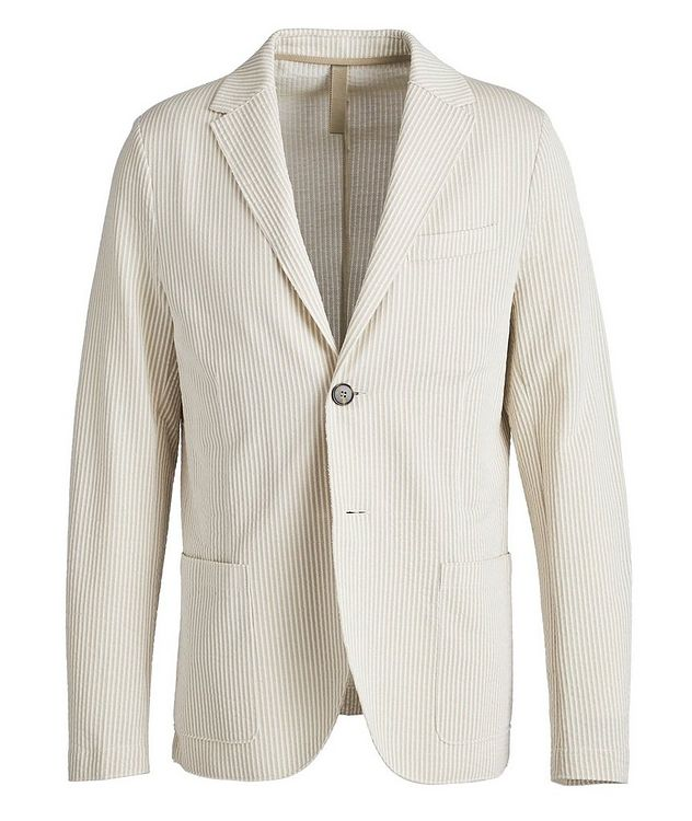 Unstructured Cotton Sports Jacket picture 1