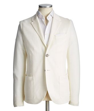 Harris Wharf London Unstructured Linen Sports Jacket
