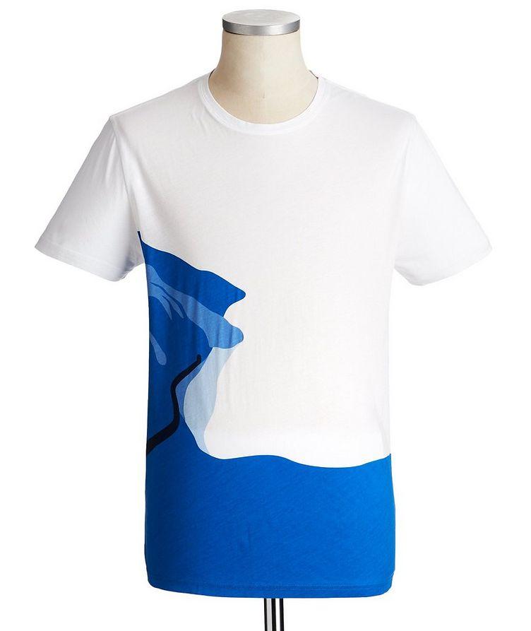 T-shirt imprimé en jersey de coton image 0