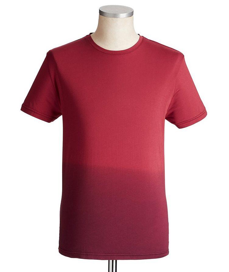 T-shirt dégradé en jersey de coton image 0