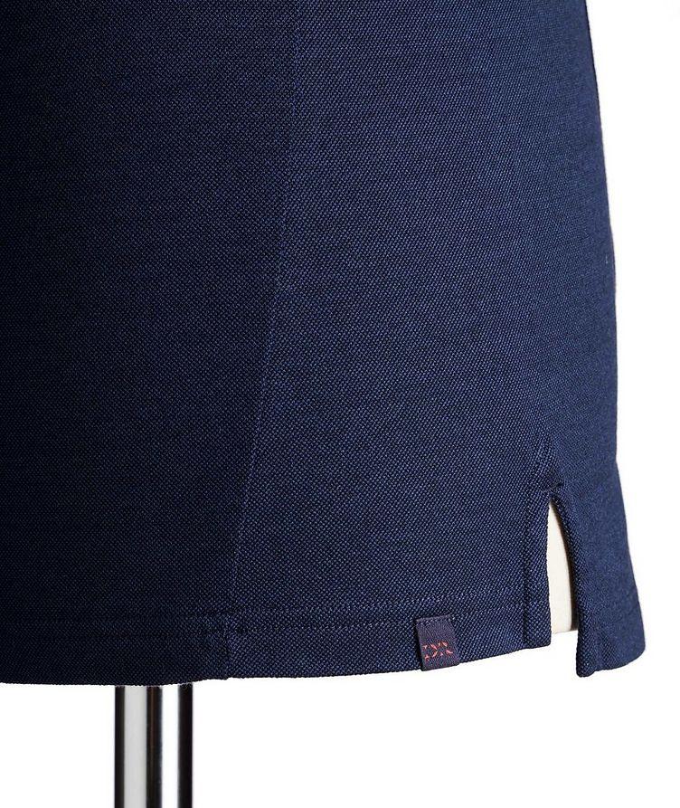 Stretch-Cotton Piqué Polo image 1
