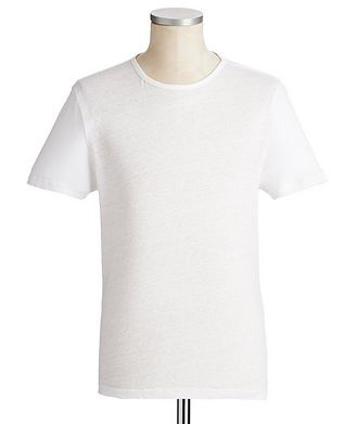 Derek Rose Linen T-Shirt