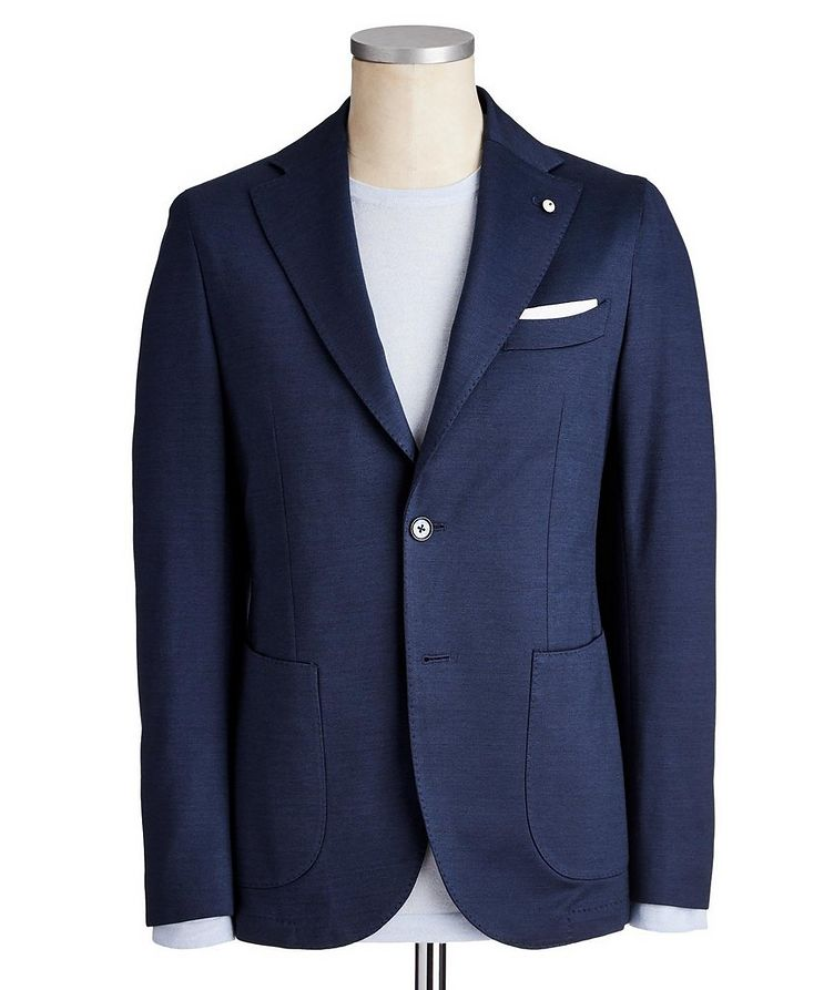 Cotton-Jersey Sports Jacket image 0