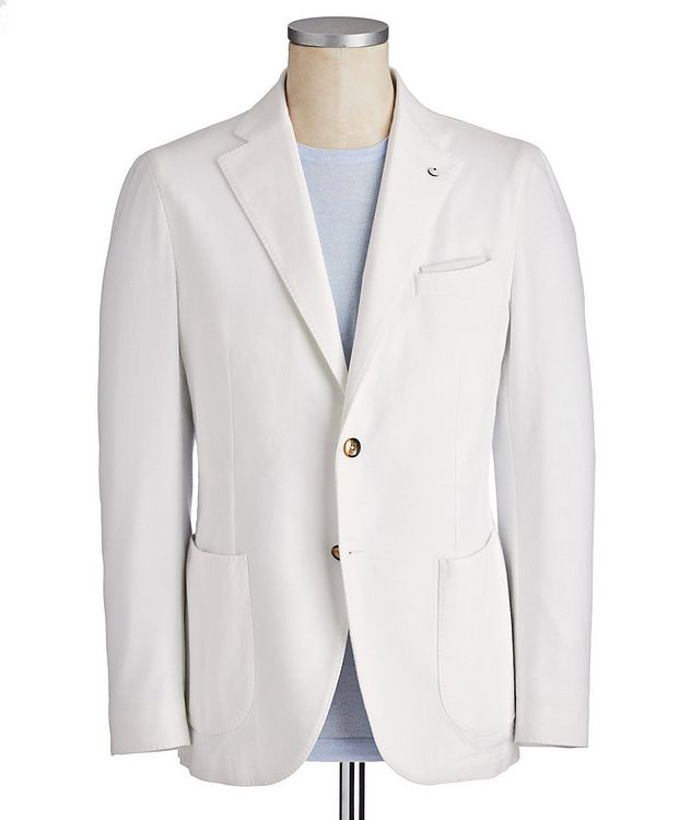 Cotton Piqué Sports Jacket picture 1