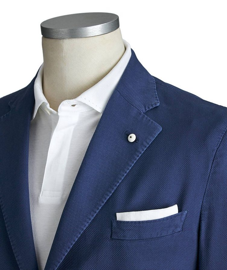 Cotton Piqué Sports Jacket image 1
