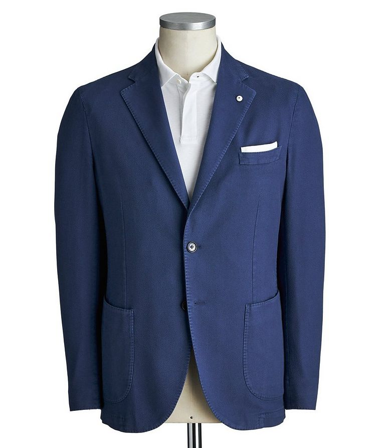Cotton Piqué Sports Jacket image 0