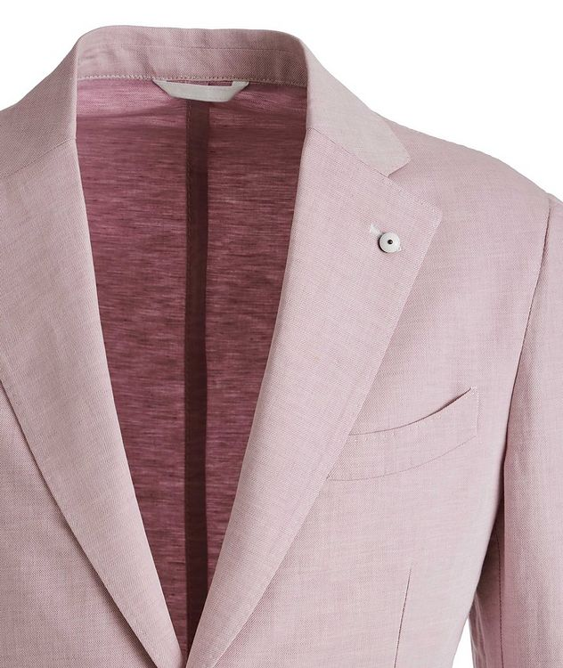 Flax-Cotton Sports Jacket picture 2