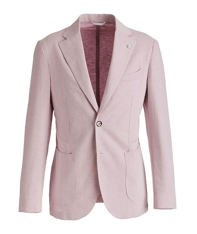 Flax-Cotton Sports Jacket picture 1