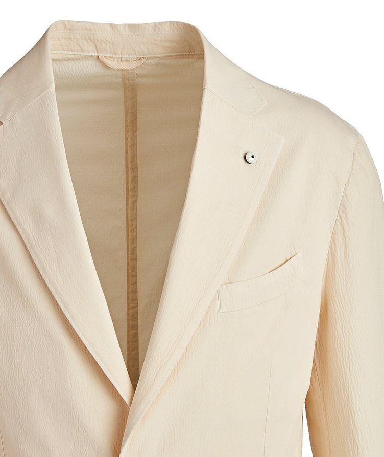 Seersucker Stretch-Cotton Sports Jacket image 1