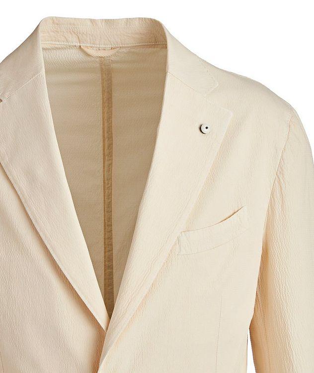 Seersucker Stretch-Cotton Sports Jacket picture 2