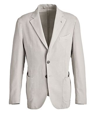 L.B.M. 1911 Unstructured Linen-Blend Sports Jacket