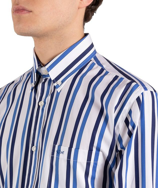Striped Cotton Shirt picture 4