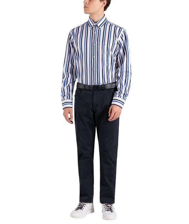 Striped Cotton Shirt picture 5