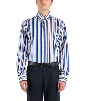 Paul & Shark Striped Cotton Shirt