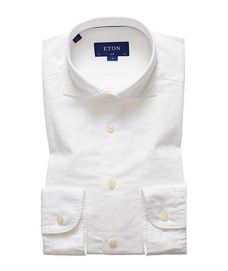 Eton Soft Slim Fit Cotton-Silk Shirt