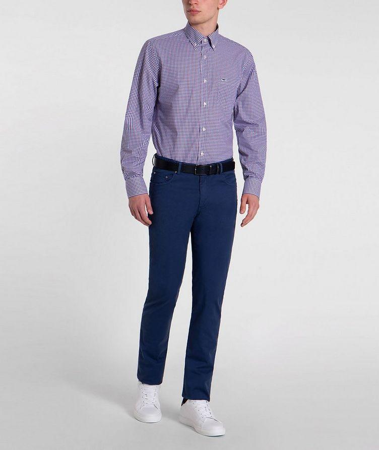 Checked Cotton Shirt image 4