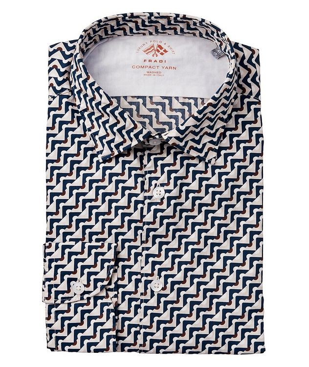 Geometric-Printed Cotton Shirt picture 1
