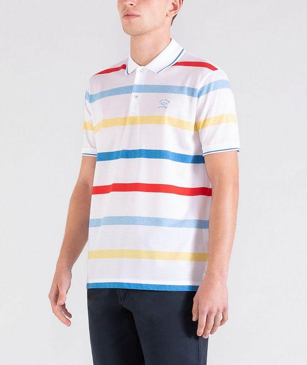 Striped Cotton Piqué Polo picture 2