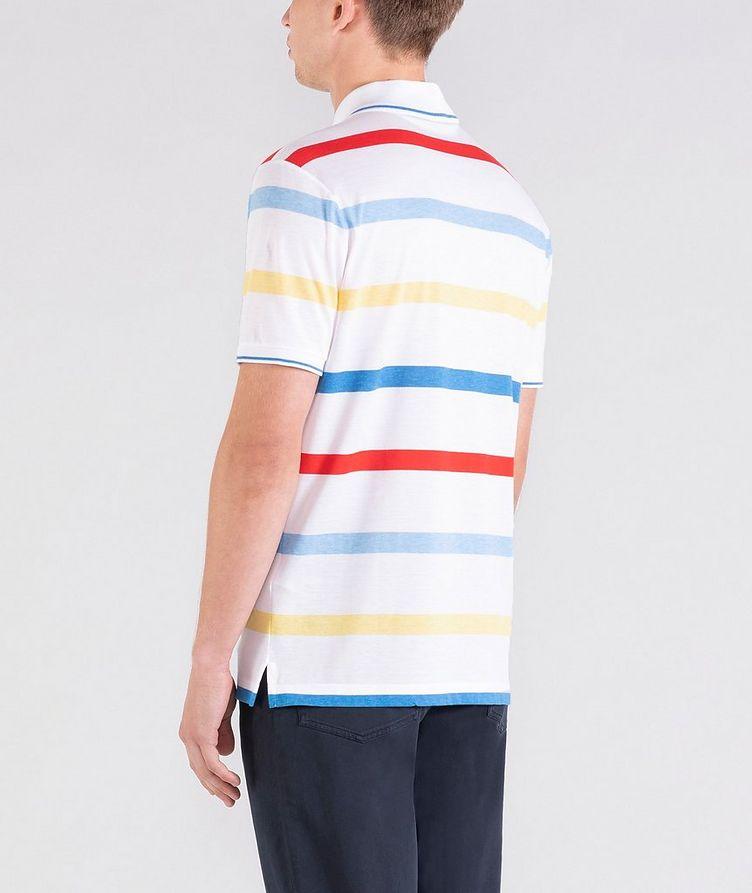 Striped Cotton Piqué Polo image 2