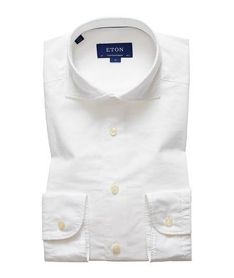 Eton Soft Contemporary Fit Cotton-Silk Shirt