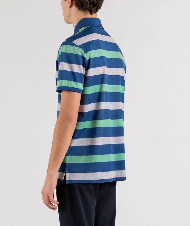 Striped Cotton Piqué Polo picture 3