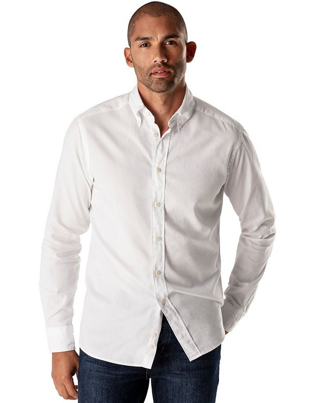 Soft Slim Fit Oxford Shirt picture 2
