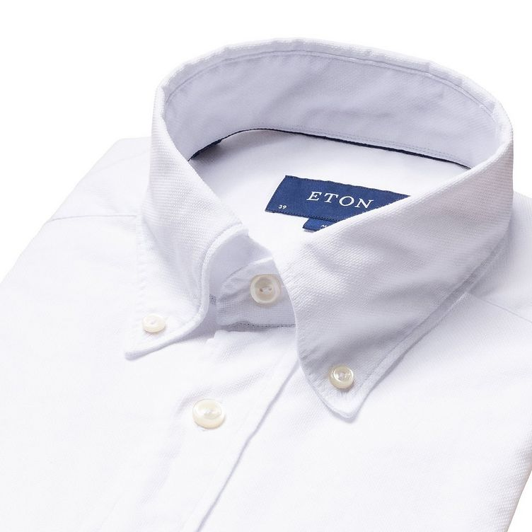 Soft Slim Fit Oxford Shirt image 4