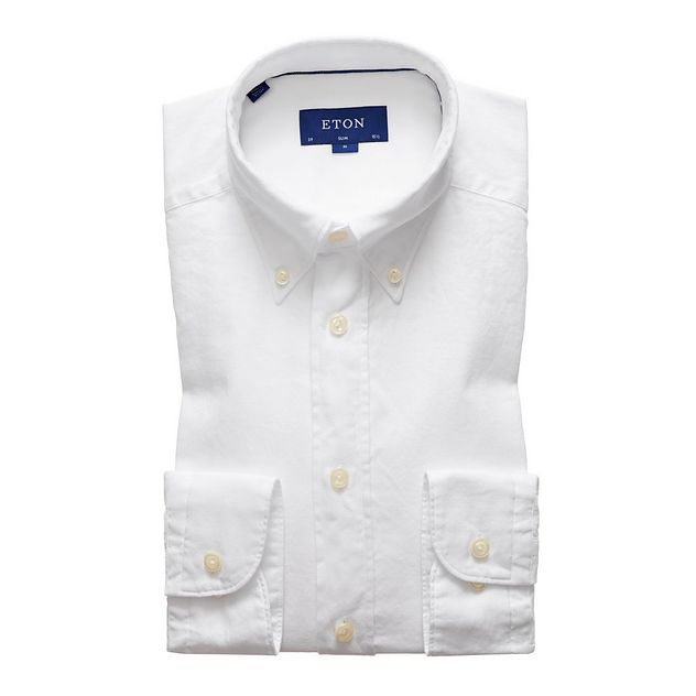 Soft Slim Fit Oxford Shirt picture 1