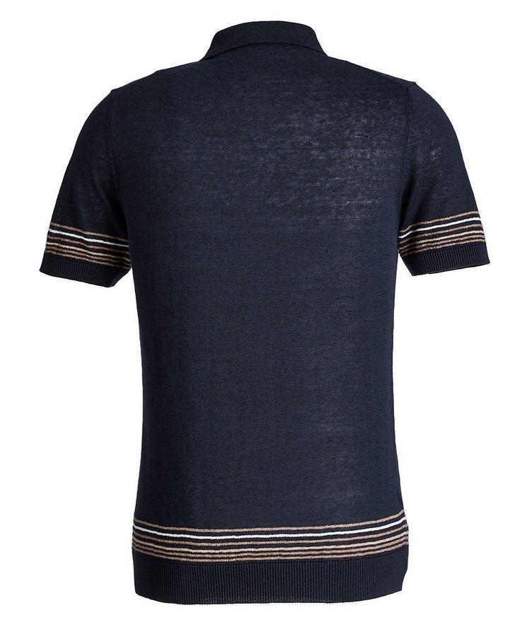 Linen-Cotton Polo image 2