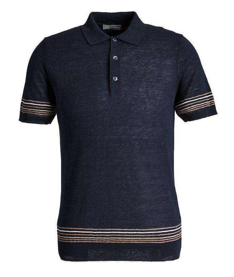 Linen-Cotton Polo image 0
