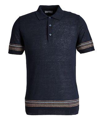 Fradi Linen-Cotton Polo