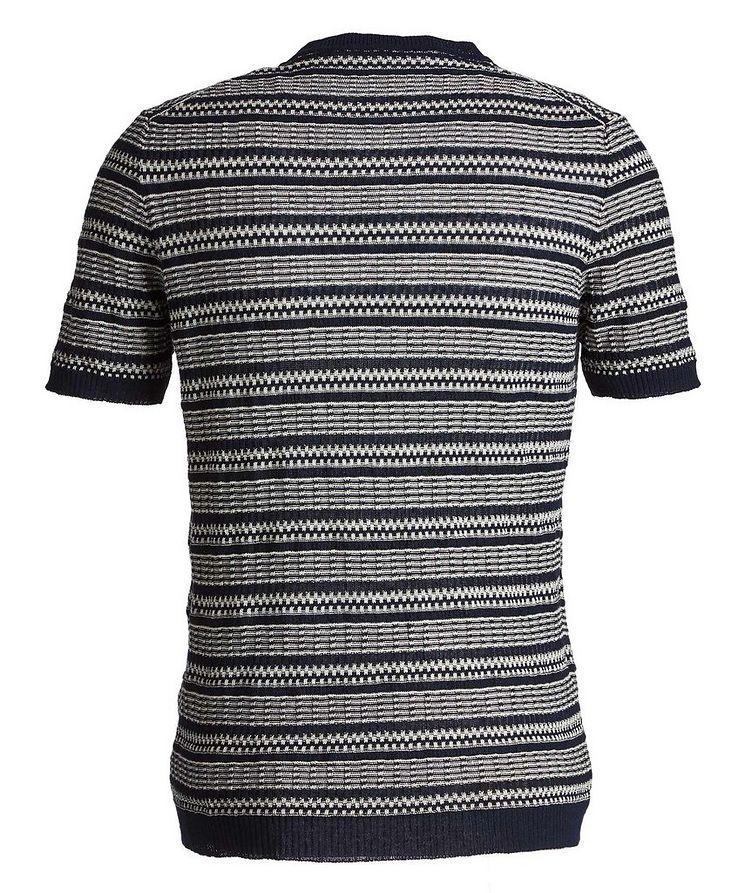 Striped Linen-Cotton T-Shirt image 2