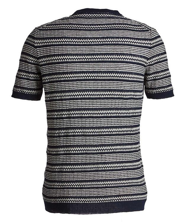 Striped Linen-Cotton T-Shirt picture 3