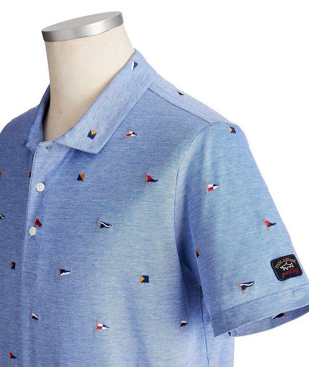 Embroidered Cotton Piqué Polo picture 2