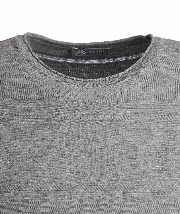 Striped Cotton T-Shirt picture 2