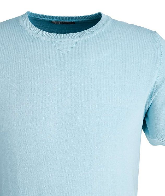 Garment-Dyed Cotton T-Shirt picture 2