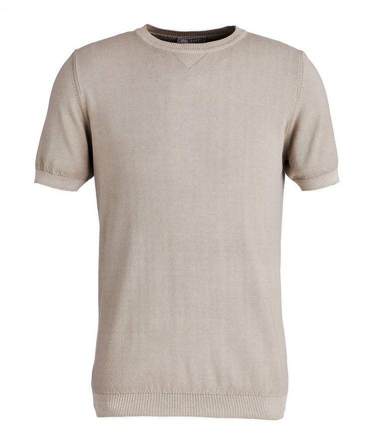 Garment-Dyed Cotton T-Shirt image 0