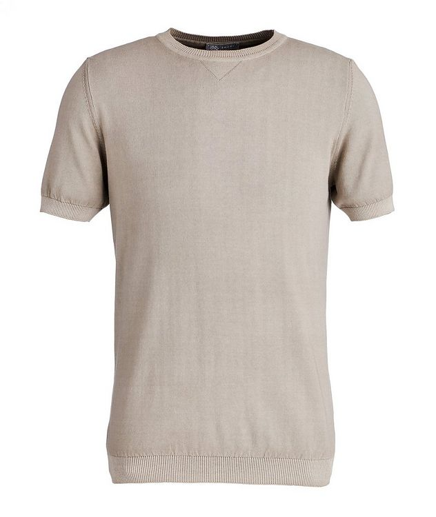 Garment-Dyed Cotton T-Shirt picture 1