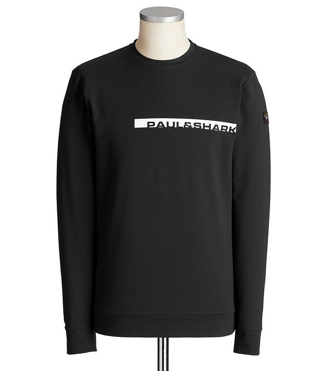 Printed Cotton-Blend Sweatshirt picture 1