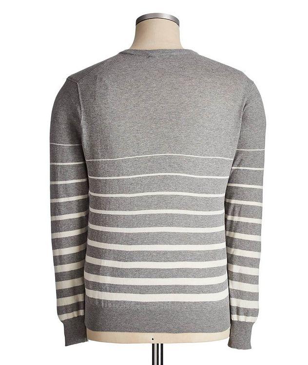 Striped Cotton Sweater picture 2