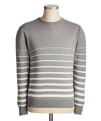 Fradi Striped Cotton Sweater
