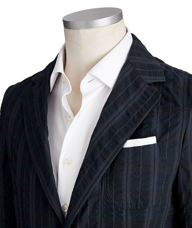 Unstructured Cotton-Blend Sports Jacket picture 2