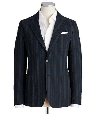 Fradi Unstructured Cotton-Blend Sports Jacket