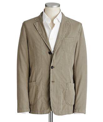Fradi Postage Pocket Cotton-Blend Sports Jacket