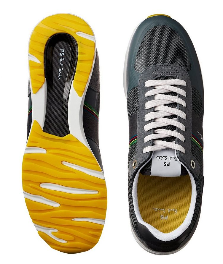 Huey Multi-Texture Sneakers image 2